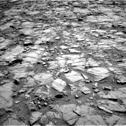 Nasa's Mars rover Curiosity acquired this image using its Left Navigation Camera on Sol 1168, at drive 6, site number 51