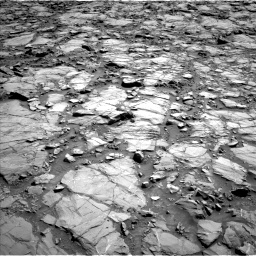 Nasa's Mars rover Curiosity acquired this image using its Left Navigation Camera on Sol 1168, at drive 12, site number 51