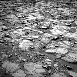 Nasa's Mars rover Curiosity acquired this image using its Left Navigation Camera on Sol 1168, at drive 54, site number 51