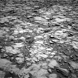 Nasa's Mars rover Curiosity acquired this image using its Left Navigation Camera on Sol 1168, at drive 66, site number 51