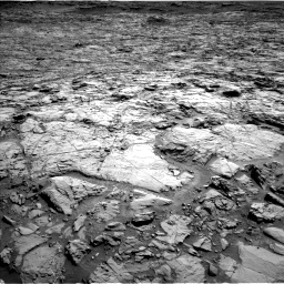 Nasa's Mars rover Curiosity acquired this image using its Left Navigation Camera on Sol 1168, at drive 162, site number 51