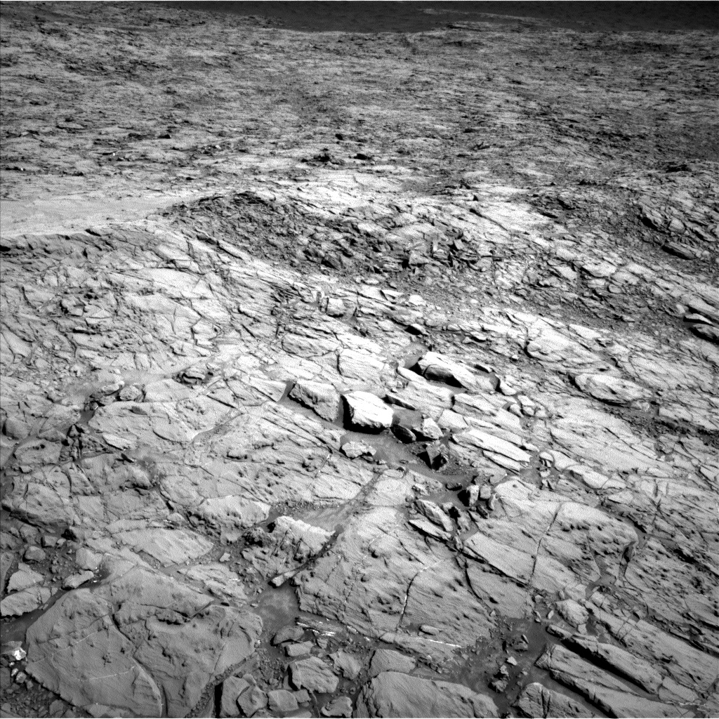 Nasa's Mars rover Curiosity acquired this image using its Left Navigation Camera on Sol 1168, at drive 216, site number 51