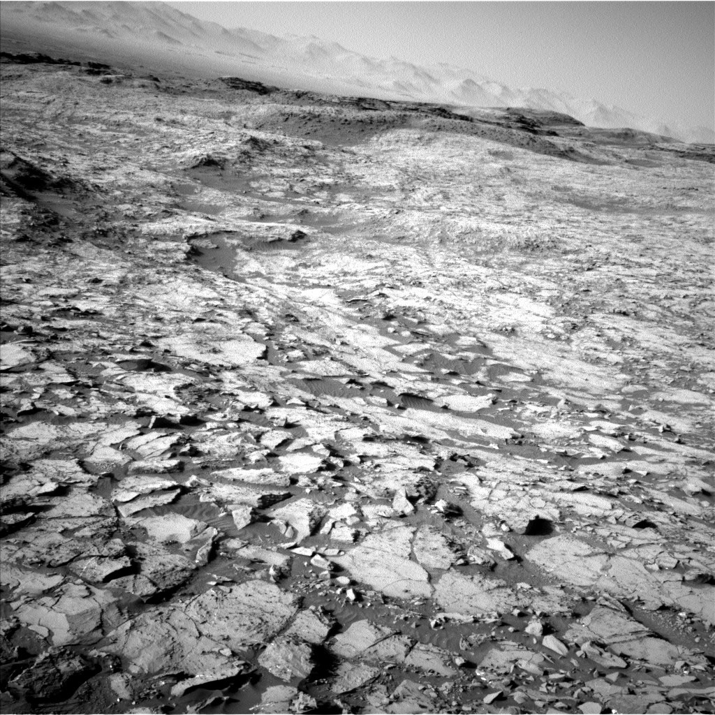 Nasa's Mars rover Curiosity acquired this image using its Left Navigation Camera on Sol 1168, at drive 268, site number 51