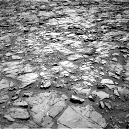 Nasa's Mars rover Curiosity acquired this image using its Right Navigation Camera on Sol 1168, at drive 0, site number 51