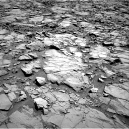 Nasa's Mars rover Curiosity acquired this image using its Right Navigation Camera on Sol 1168, at drive 24, site number 51