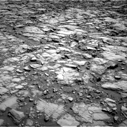 Nasa's Mars rover Curiosity acquired this image using its Right Navigation Camera on Sol 1168, at drive 60, site number 51