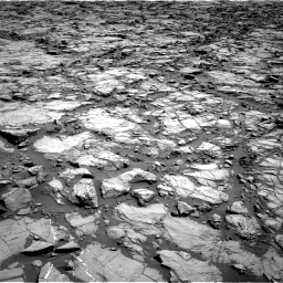 Nasa's Mars rover Curiosity acquired this image using its Right Navigation Camera on Sol 1168, at drive 78, site number 51