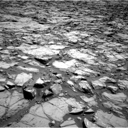 Nasa's Mars rover Curiosity acquired this image using its Right Navigation Camera on Sol 1168, at drive 84, site number 51