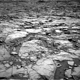 Nasa's Mars rover Curiosity acquired this image using its Right Navigation Camera on Sol 1168, at drive 120, site number 51