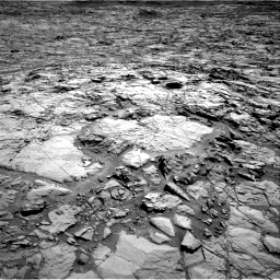 Nasa's Mars rover Curiosity acquired this image using its Right Navigation Camera on Sol 1168, at drive 156, site number 51