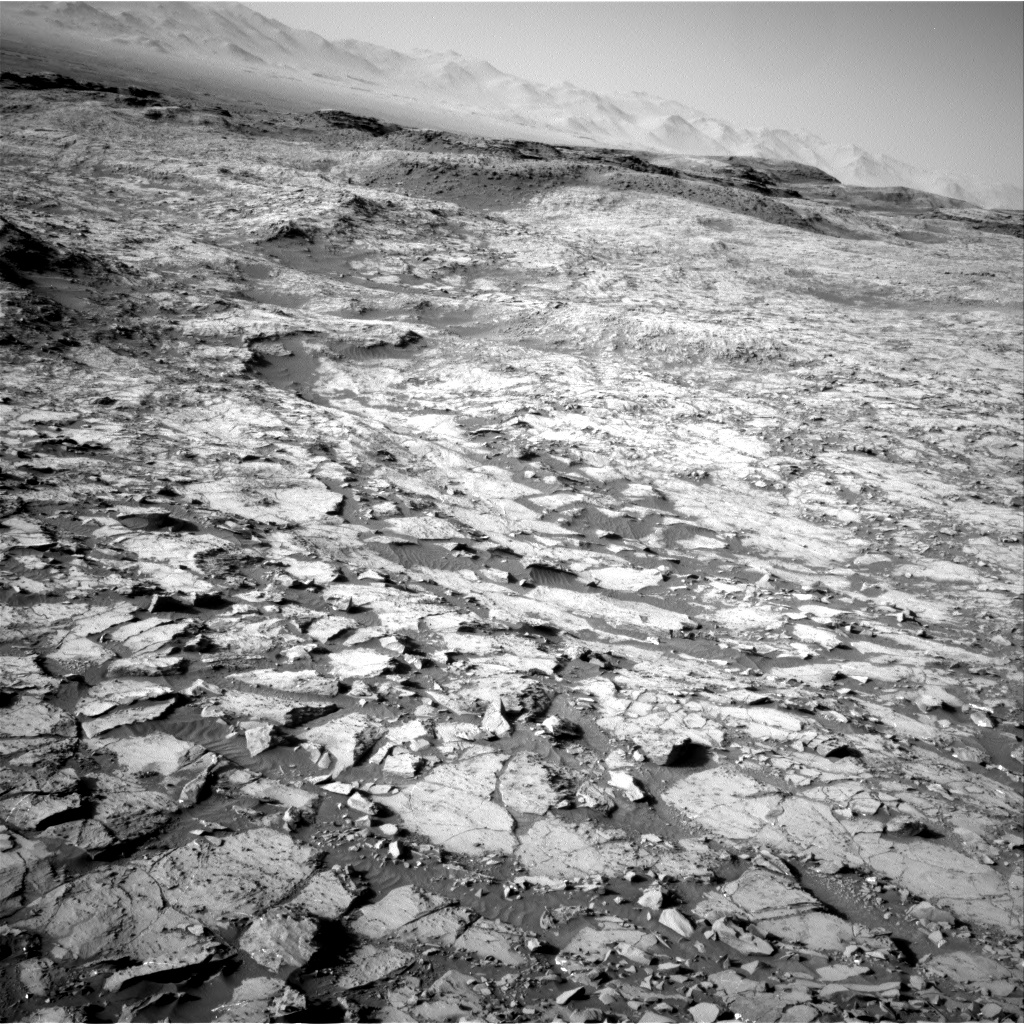 Nasa's Mars rover Curiosity acquired this image using its Right Navigation Camera on Sol 1168, at drive 268, site number 51