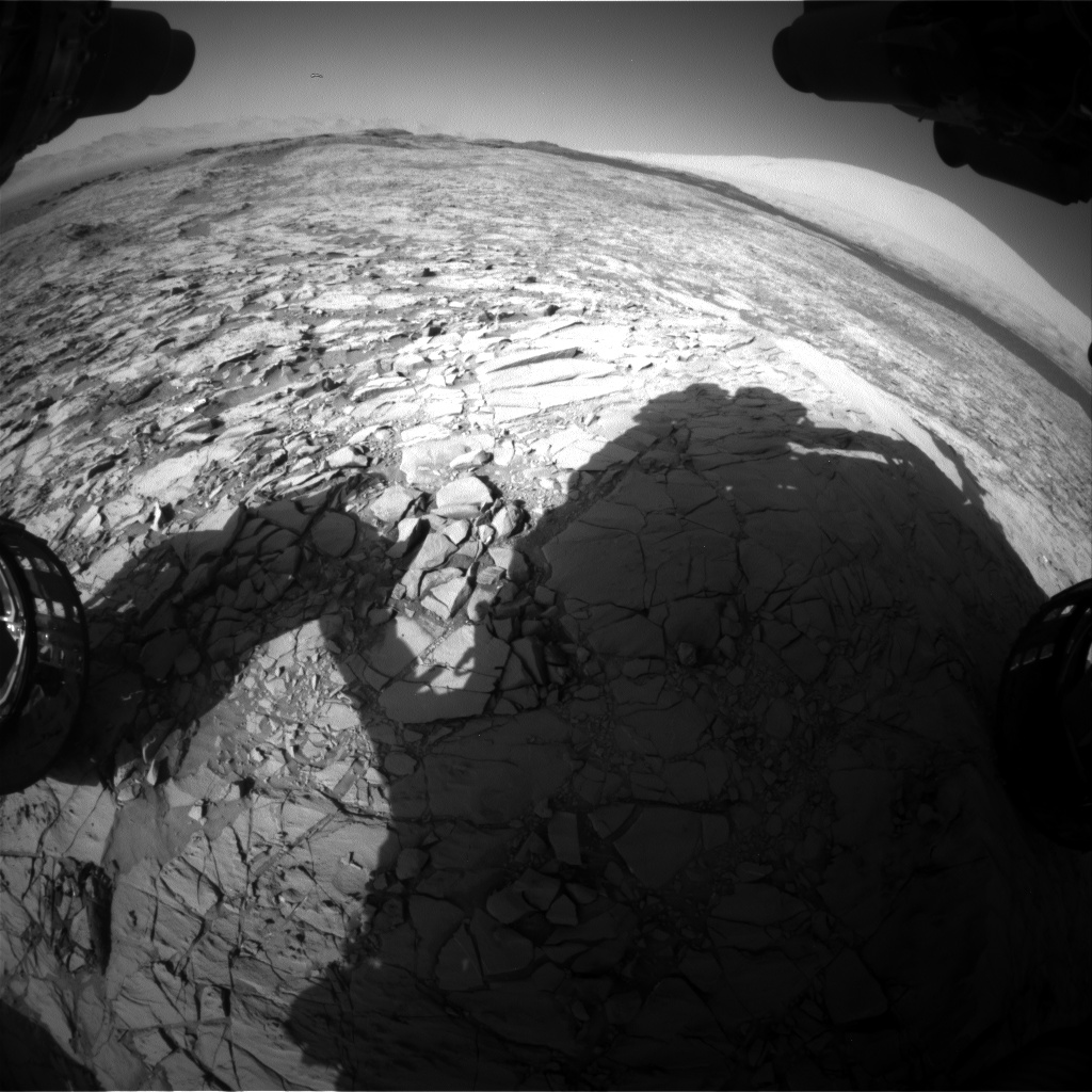 Nasa's Mars rover Curiosity acquired this image using its Front Hazard Avoidance Camera (Front Hazcam) on Sol 1169, at drive 268, site number 51