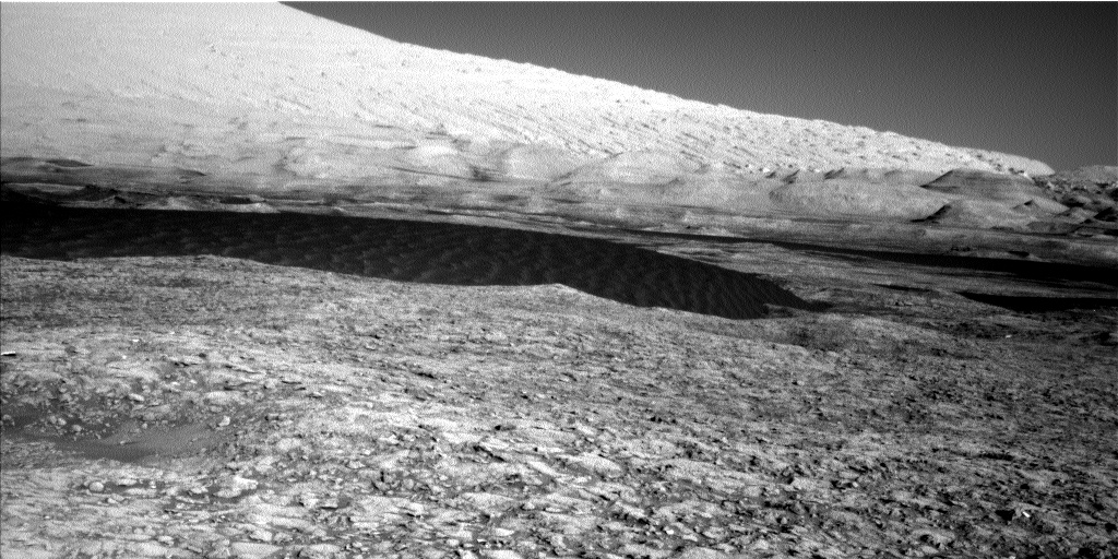 Nasa's Mars rover Curiosity acquired this image using its Left Navigation Camera on Sol 1169, at drive 268, site number 51