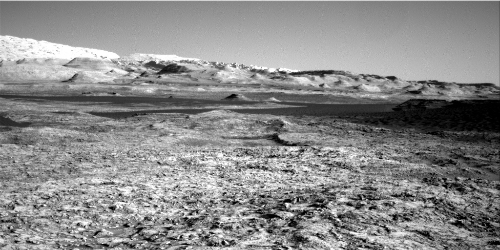 NASA's Mars rover Curiosity acquired this image using its Right Navigation Cameras (Navcams) on Sol 1169