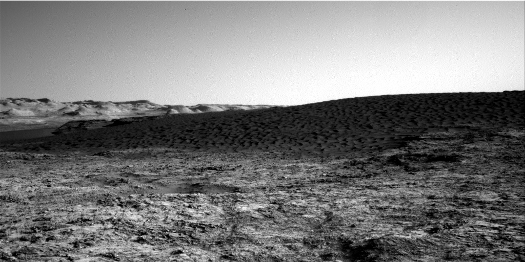 Nasa's Mars rover Curiosity acquired this image using its Right Navigation Camera on Sol 1169, at drive 268, site number 51