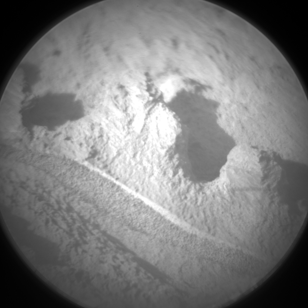 Nasa's Mars rover Curiosity acquired this image using its Chemistry & Camera (ChemCam) on Sol 1171, at drive 268, site number 51