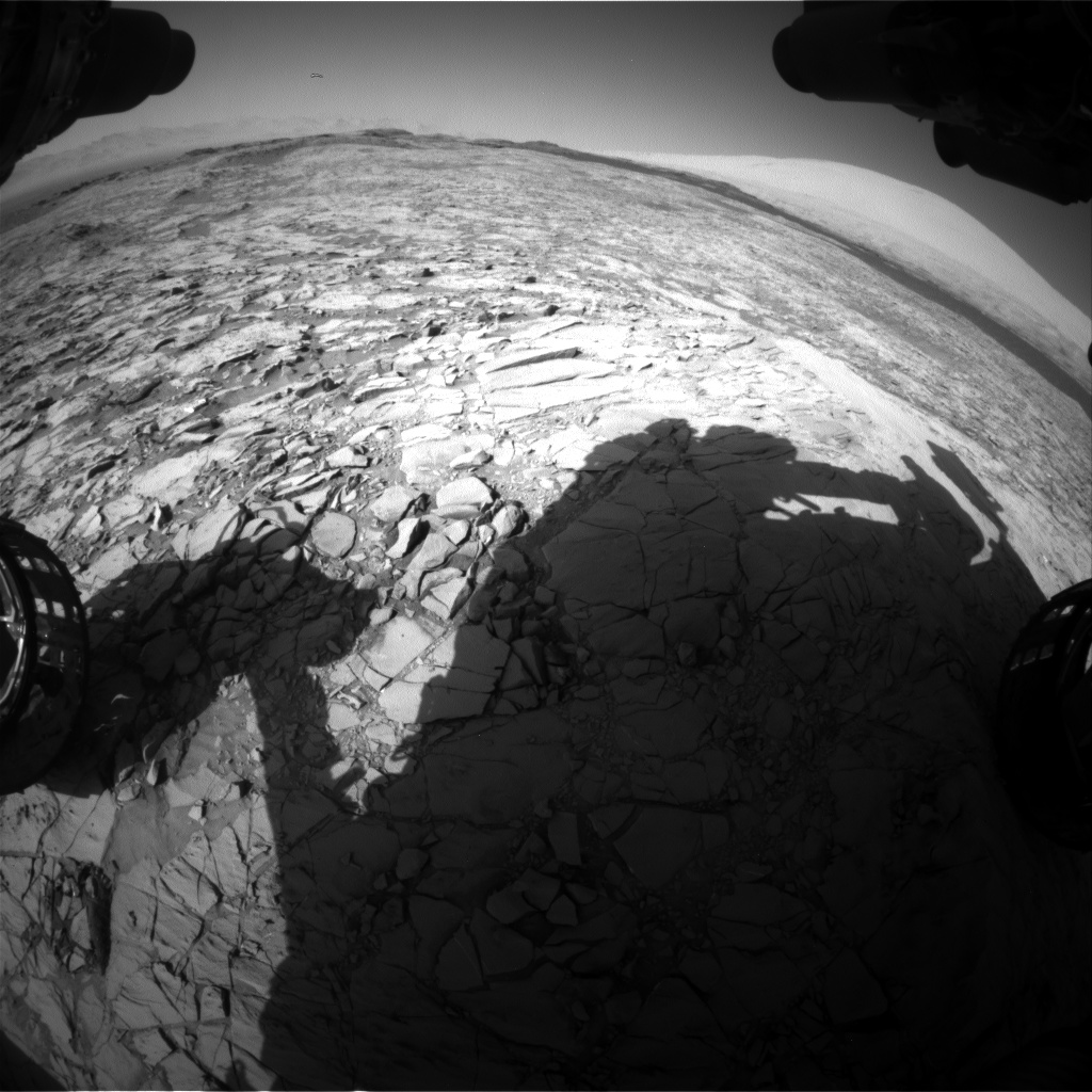 Nasa's Mars rover Curiosity acquired this image using its Front Hazard Avoidance Camera (Front Hazcam) on Sol 1171, at drive 268, site number 51