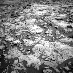 Nasa's Mars rover Curiosity acquired this image using its Left Navigation Camera on Sol 1172, at drive 388, site number 51