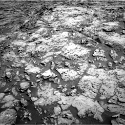 Nasa's Mars rover Curiosity acquired this image using its Left Navigation Camera on Sol 1172, at drive 394, site number 51