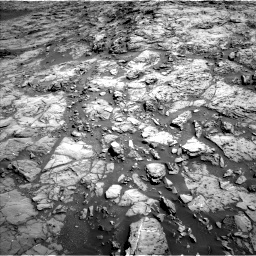 Nasa's Mars rover Curiosity acquired this image using its Left Navigation Camera on Sol 1172, at drive 400, site number 51