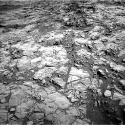 Nasa's Mars rover Curiosity acquired this image using its Left Navigation Camera on Sol 1172, at drive 406, site number 51