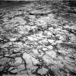 Nasa's Mars rover Curiosity acquired this image using its Left Navigation Camera on Sol 1172, at drive 424, site number 51