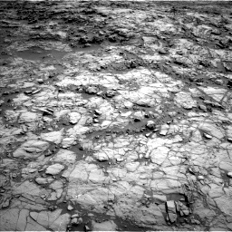 Nasa's Mars rover Curiosity acquired this image using its Left Navigation Camera on Sol 1172, at drive 454, site number 51