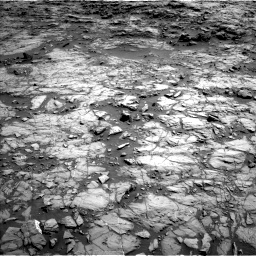 Nasa's Mars rover Curiosity acquired this image using its Left Navigation Camera on Sol 1172, at drive 466, site number 51