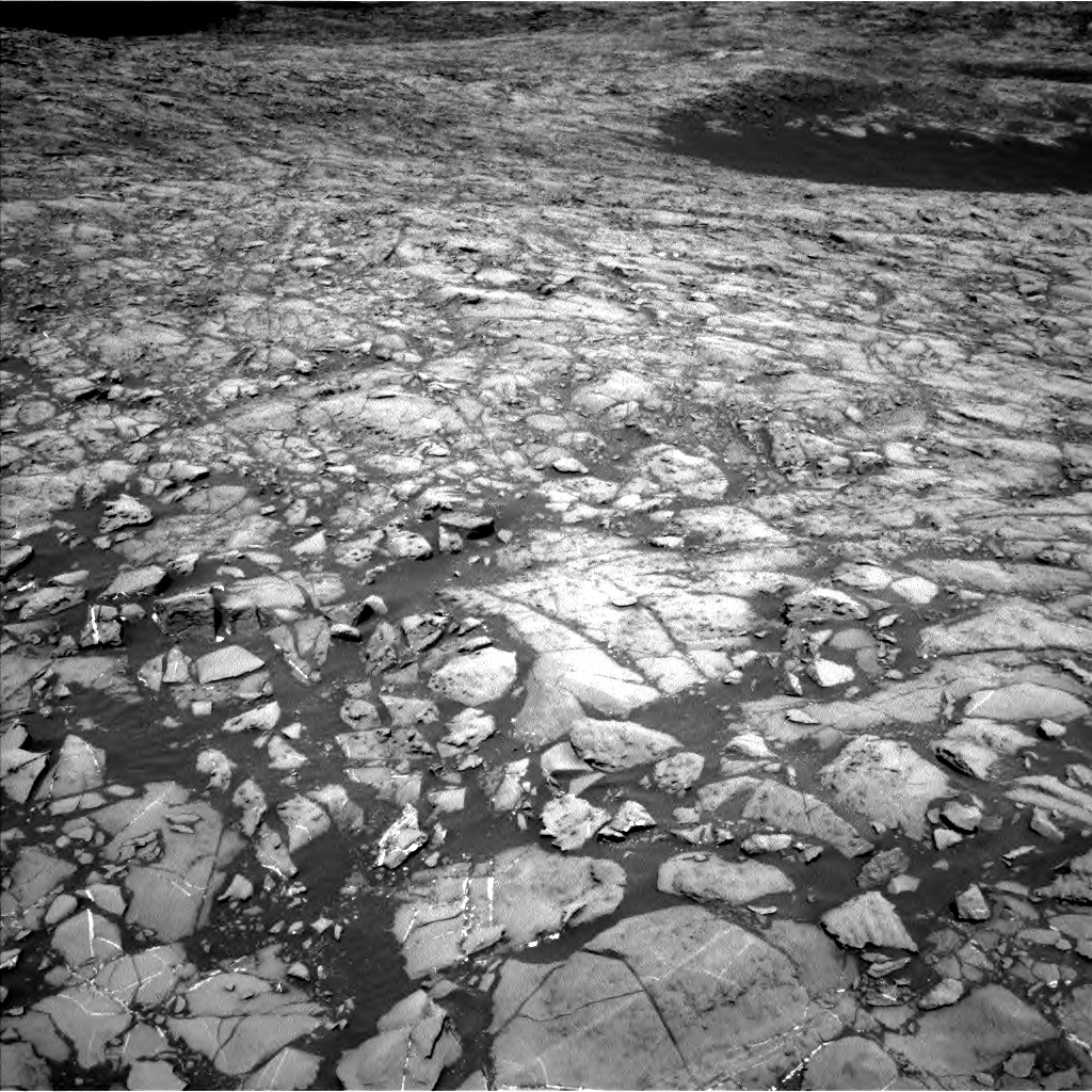 Nasa's Mars rover Curiosity acquired this image using its Left Navigation Camera on Sol 1172, at drive 574, site number 51