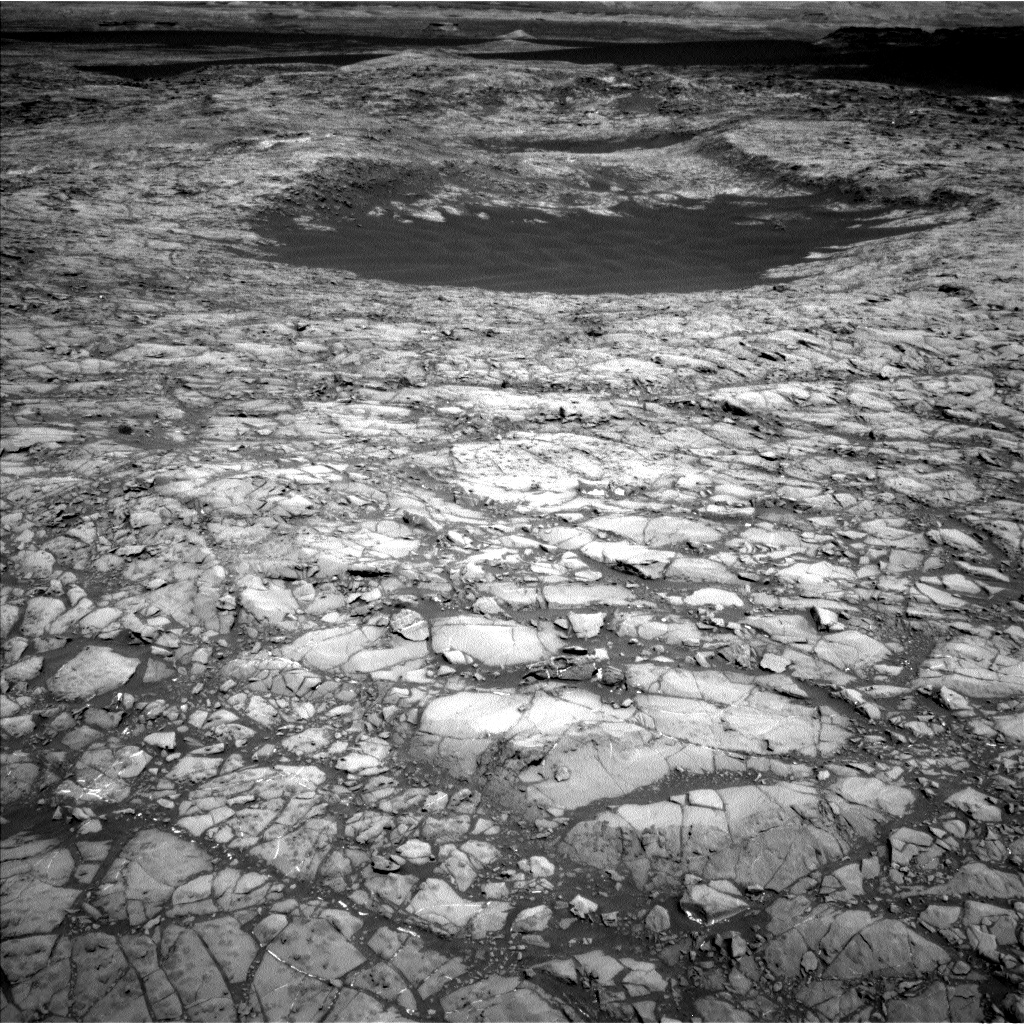 Nasa's Mars rover Curiosity acquired this image using its Left Navigation Camera on Sol 1172, at drive 592, site number 51