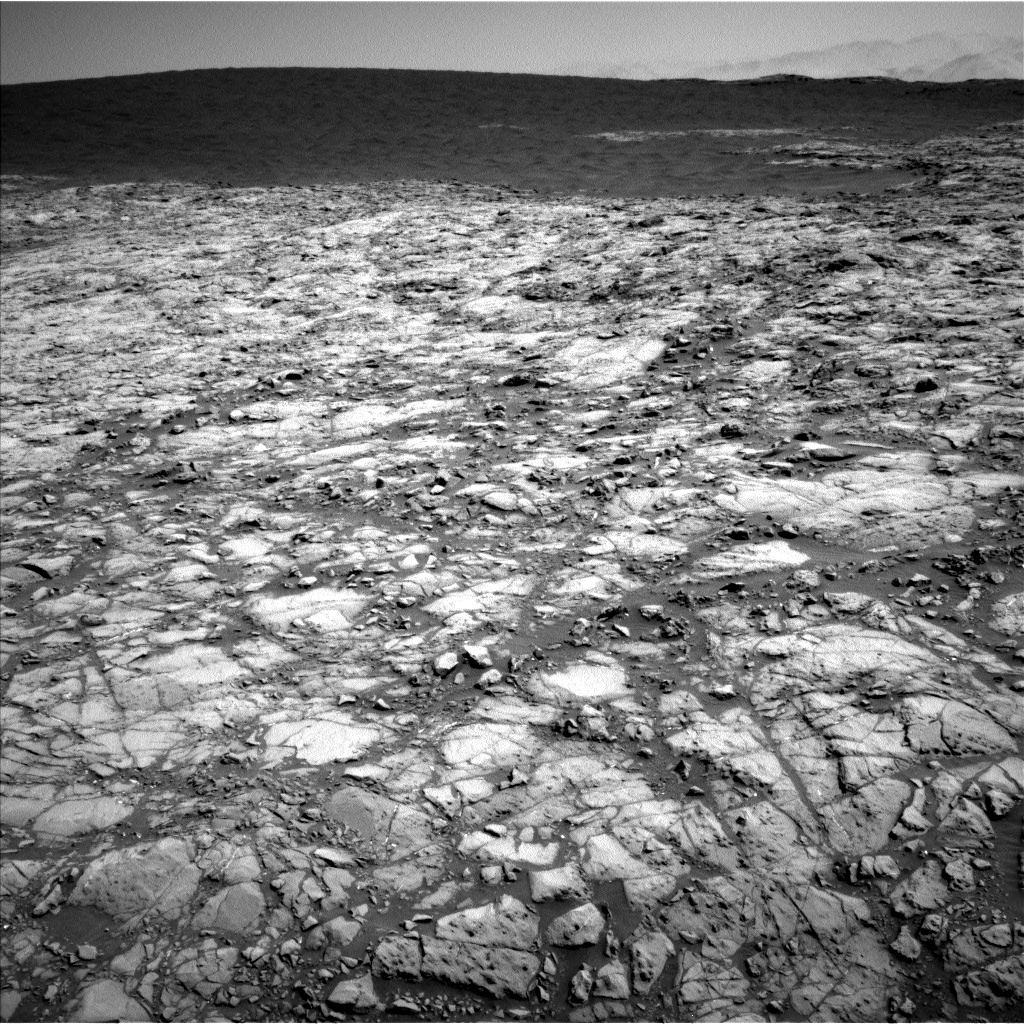 Sol 1172 Navcam of dune 2