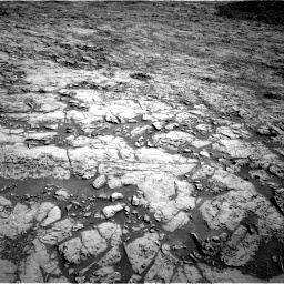 Nasa's Mars rover Curiosity acquired this image using its Right Navigation Camera on Sol 1172, at drive 346, site number 51