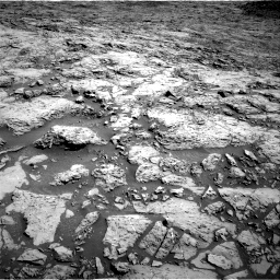 Nasa's Mars rover Curiosity acquired this image using its Right Navigation Camera on Sol 1172, at drive 370, site number 51
