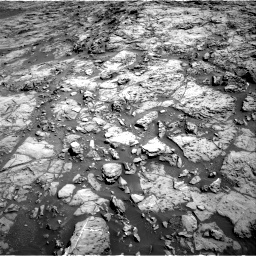 Nasa's Mars rover Curiosity acquired this image using its Right Navigation Camera on Sol 1172, at drive 400, site number 51