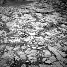 Nasa's Mars rover Curiosity acquired this image using its Right Navigation Camera on Sol 1172, at drive 436, site number 51
