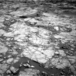 Nasa's Mars rover Curiosity acquired this image using its Right Navigation Camera on Sol 1172, at drive 484, site number 51