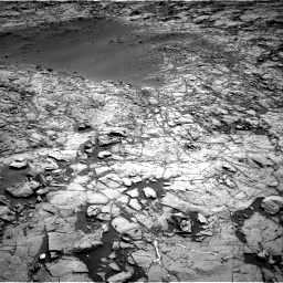 Nasa's Mars rover Curiosity acquired this image using its Right Navigation Camera on Sol 1172, at drive 532, site number 51