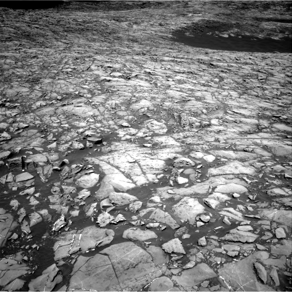 Nasa's Mars rover Curiosity acquired this image using its Right Navigation Camera on Sol 1172, at drive 574, site number 51