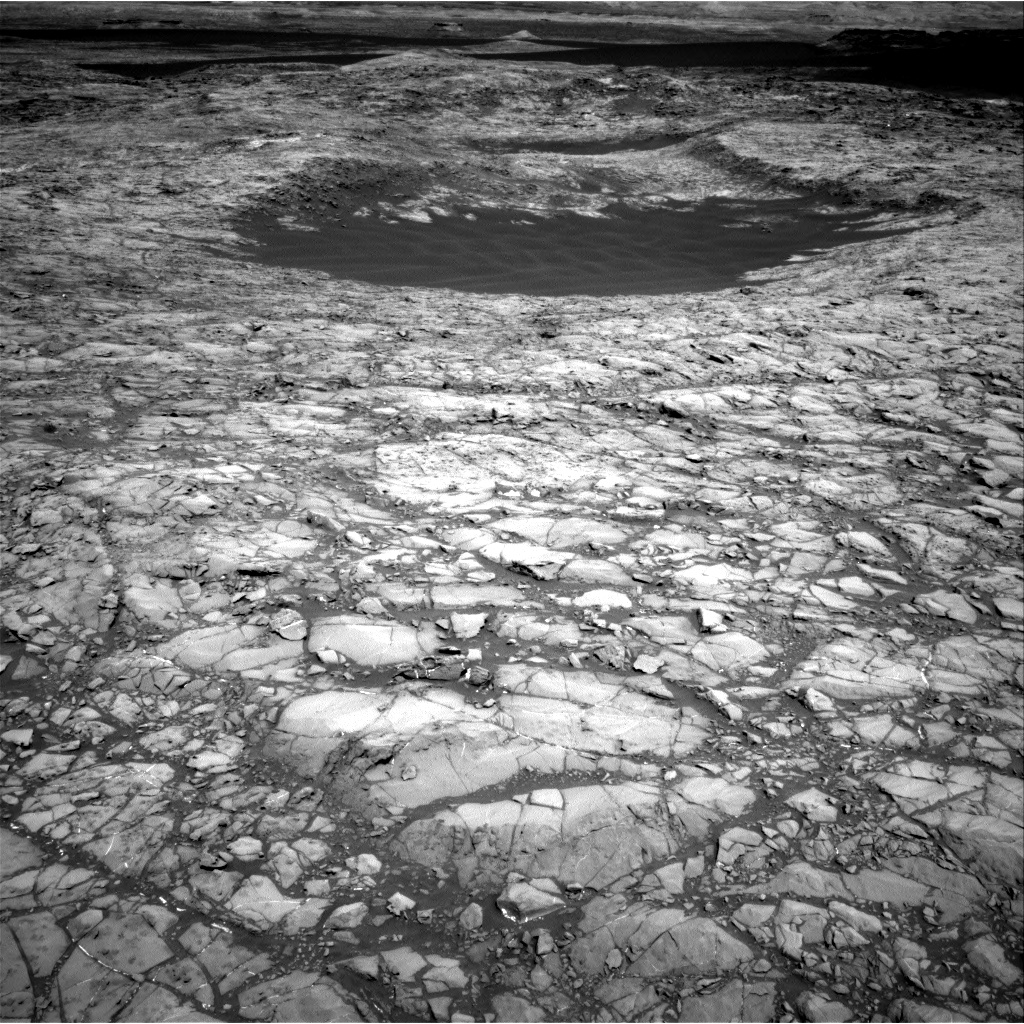 Nasa's Mars rover Curiosity acquired this image using its Right Navigation Camera on Sol 1172, at drive 592, site number 51