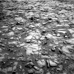 Nasa's Mars rover Curiosity acquired this image using its Left Navigation Camera on Sol 1173, at drive 640, site number 51