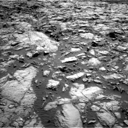 Nasa's Mars rover Curiosity acquired this image using its Left Navigation Camera on Sol 1173, at drive 652, site number 51