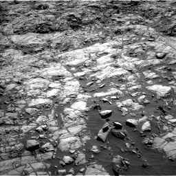 Nasa's Mars rover Curiosity acquired this image using its Left Navigation Camera on Sol 1173, at drive 670, site number 51