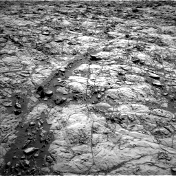 Nasa's Mars rover Curiosity acquired this image using its Left Navigation Camera on Sol 1173, at drive 712, site number 51