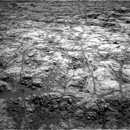 Nasa's Mars rover Curiosity acquired this image using its Left Navigation Camera on Sol 1173, at drive 766, site number 51