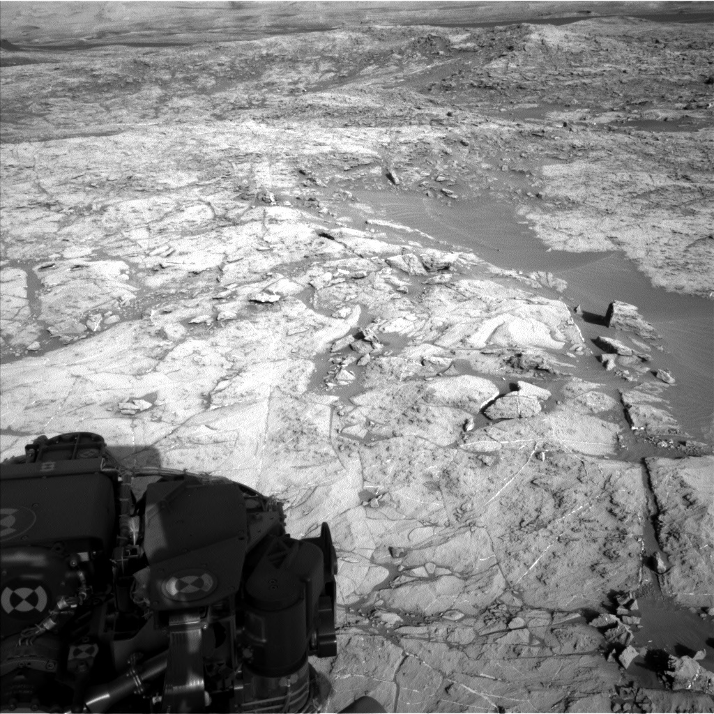 Nasa's Mars rover Curiosity acquired this image using its Left Navigation Camera on Sol 1173, at drive 874, site number 51