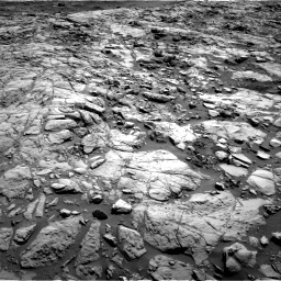 Nasa's Mars rover Curiosity acquired this image using its Right Navigation Camera on Sol 1173, at drive 604, site number 51
