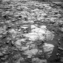 Nasa's Mars rover Curiosity acquired this image using its Right Navigation Camera on Sol 1173, at drive 634, site number 51