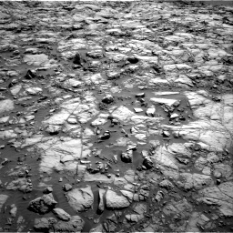Nasa's Mars rover Curiosity acquired this image using its Right Navigation Camera on Sol 1173, at drive 640, site number 51
