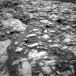 Nasa's Mars rover Curiosity acquired this image using its Right Navigation Camera on Sol 1173, at drive 652, site number 51