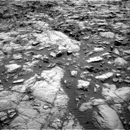 Nasa's Mars rover Curiosity acquired this image using its Right Navigation Camera on Sol 1173, at drive 658, site number 51